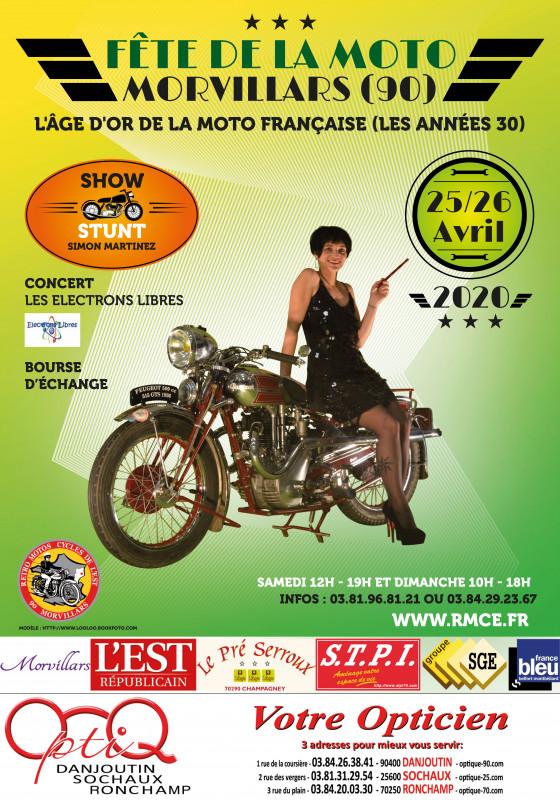 Salon de la moto à Morvillars @ Morvillars