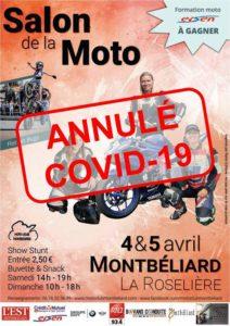 Salon moto à Montbéliard (annulé) @ La Roselière