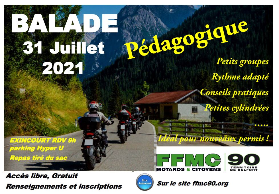 Balade pédagogique 31 juillet 2021 @ Parking Hyper U